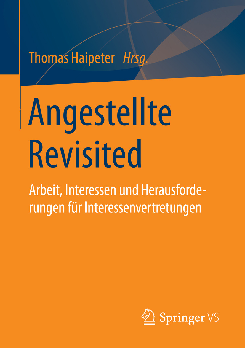 Haipeter, Thomas - Angestellte Revisited, ebook
