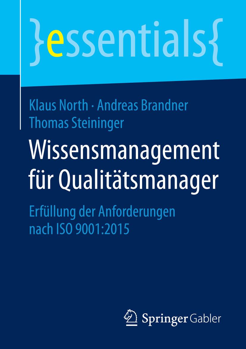 Brandner, Andreas - Wissensmanagement für Qualitätsmanager, e-bok