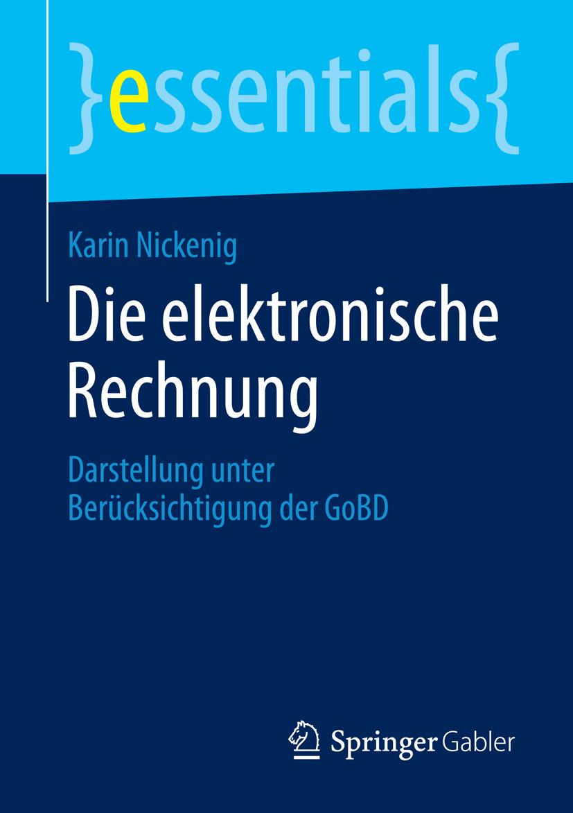 Nickenig, Karin - Die elektronische Rechnung, ebook