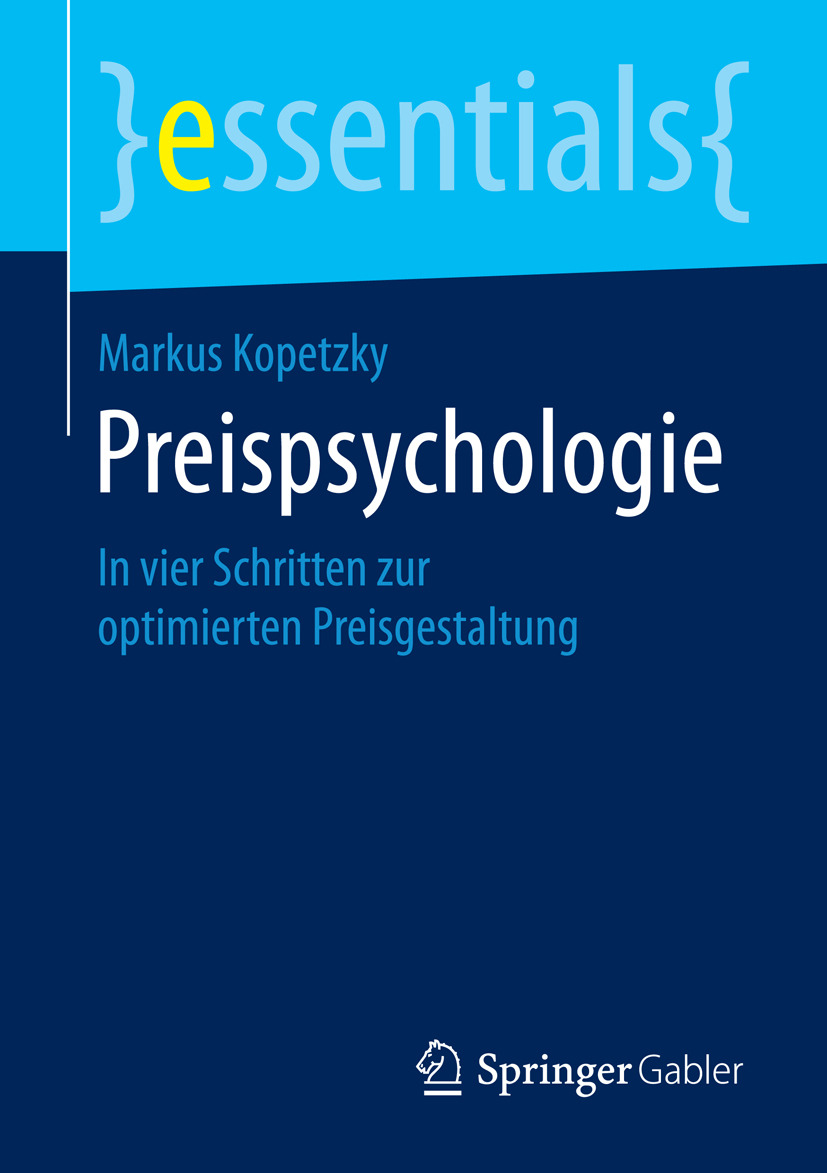 Kopetzky, Markus - Preispsychologie, ebook