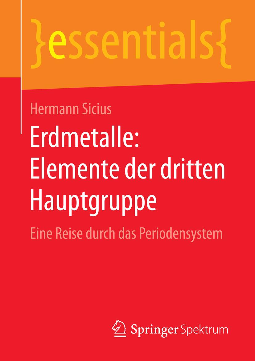 Sicius, Hermann - Erdmetalle: Elemente der dritten Hauptgruppe, ebook