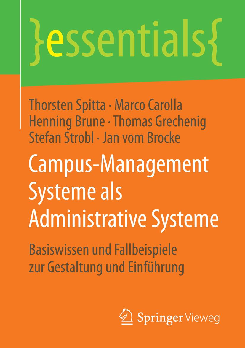 Brocke, Jan vom - Campus-Management Systeme als Administrative Systeme, ebook
