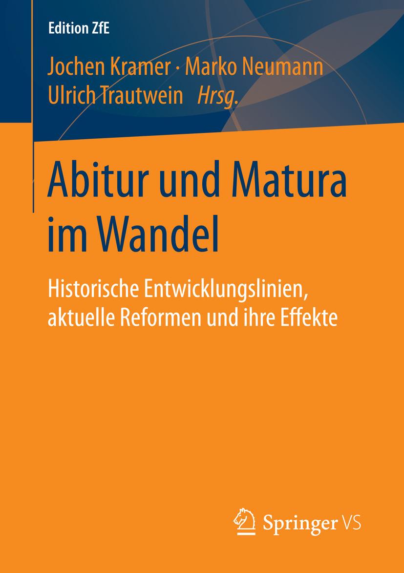 Kramer, Jochen - Abitur und Matura im Wandel, ebook