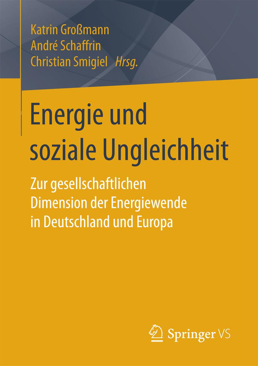 Großmann, Katrin - Energie und soziale Ungleichheit, ebook