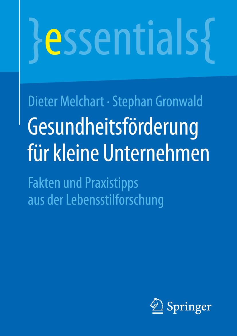 Gronwald, Stephan - Gesundheitsförderung für kleine Unternehmen, ebook