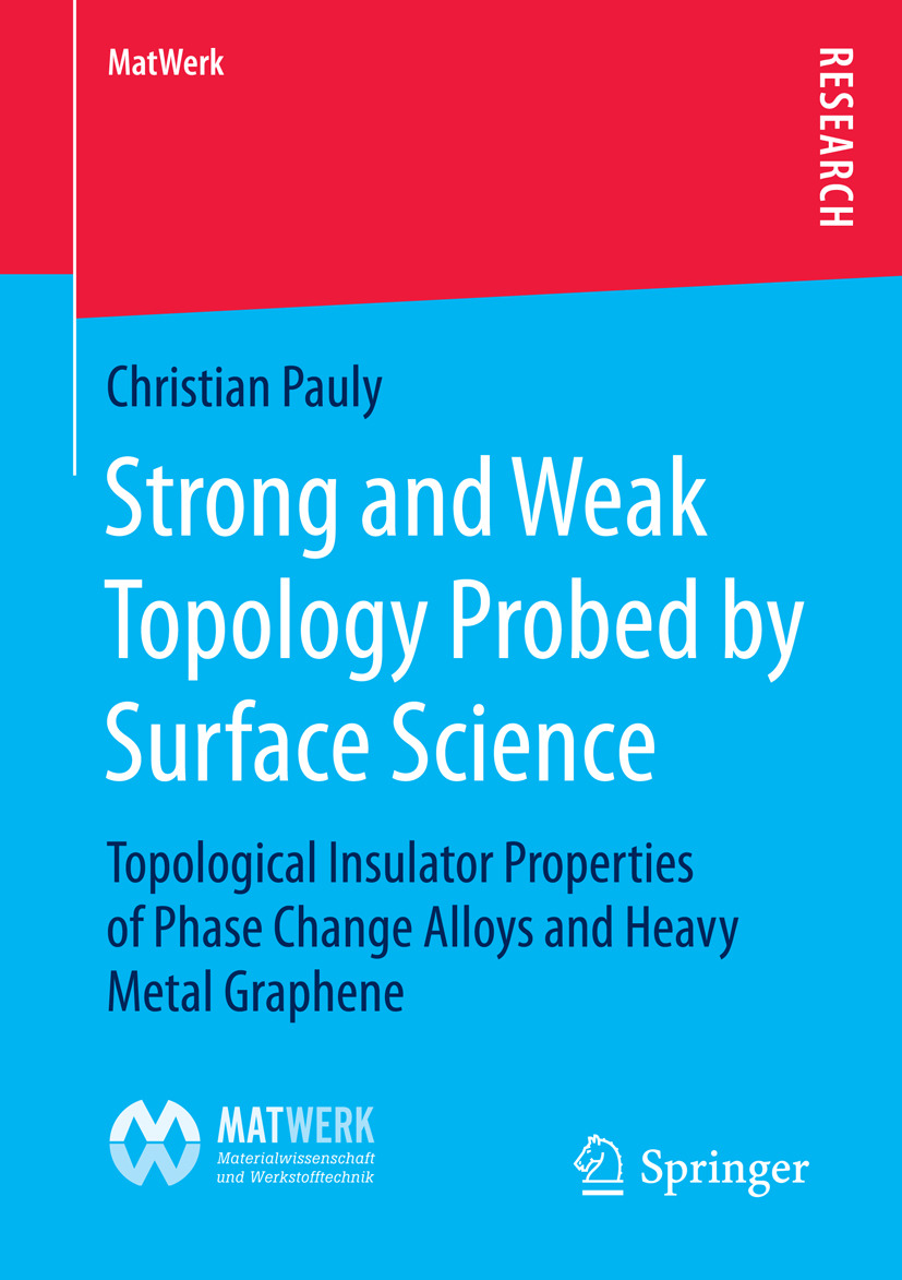 Pauly, Christian - Strong and Weak Topology Probed by Surface Science, ebook