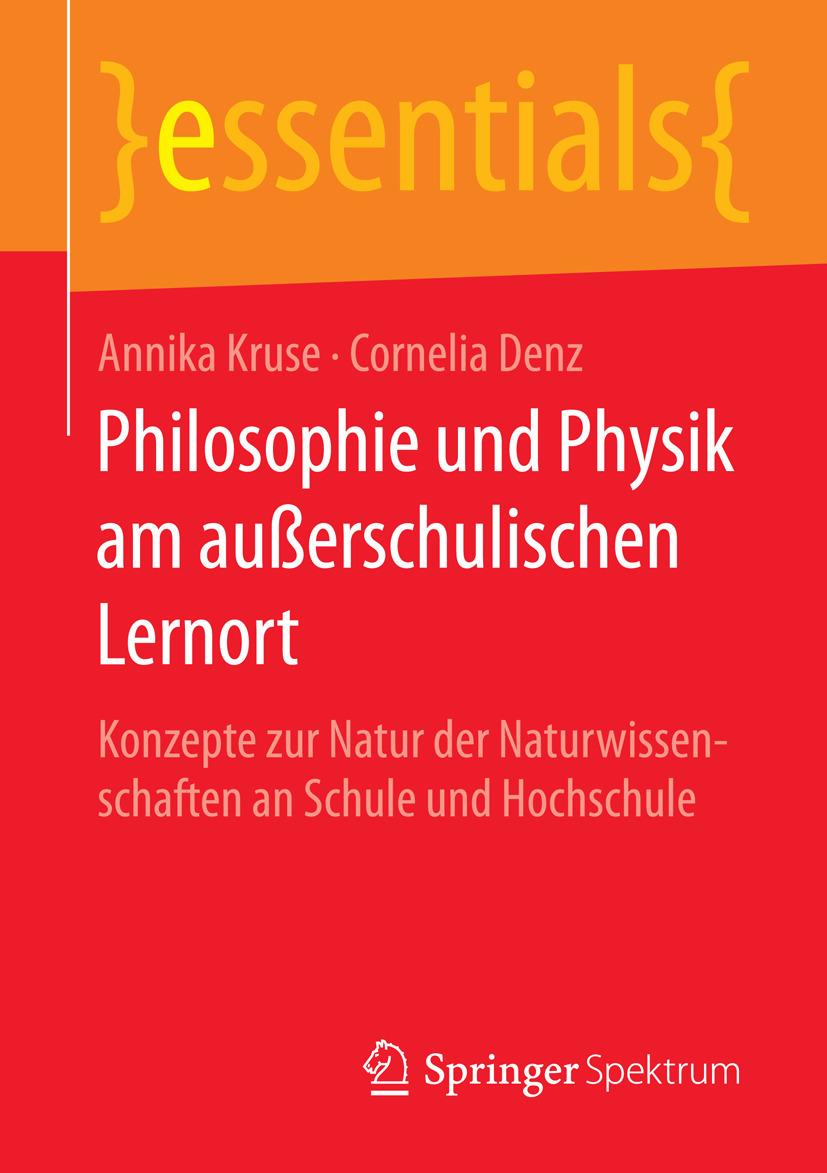 Denz, Cornelia - Philosophie und Physik am außerschulischen Lernort, ebook
