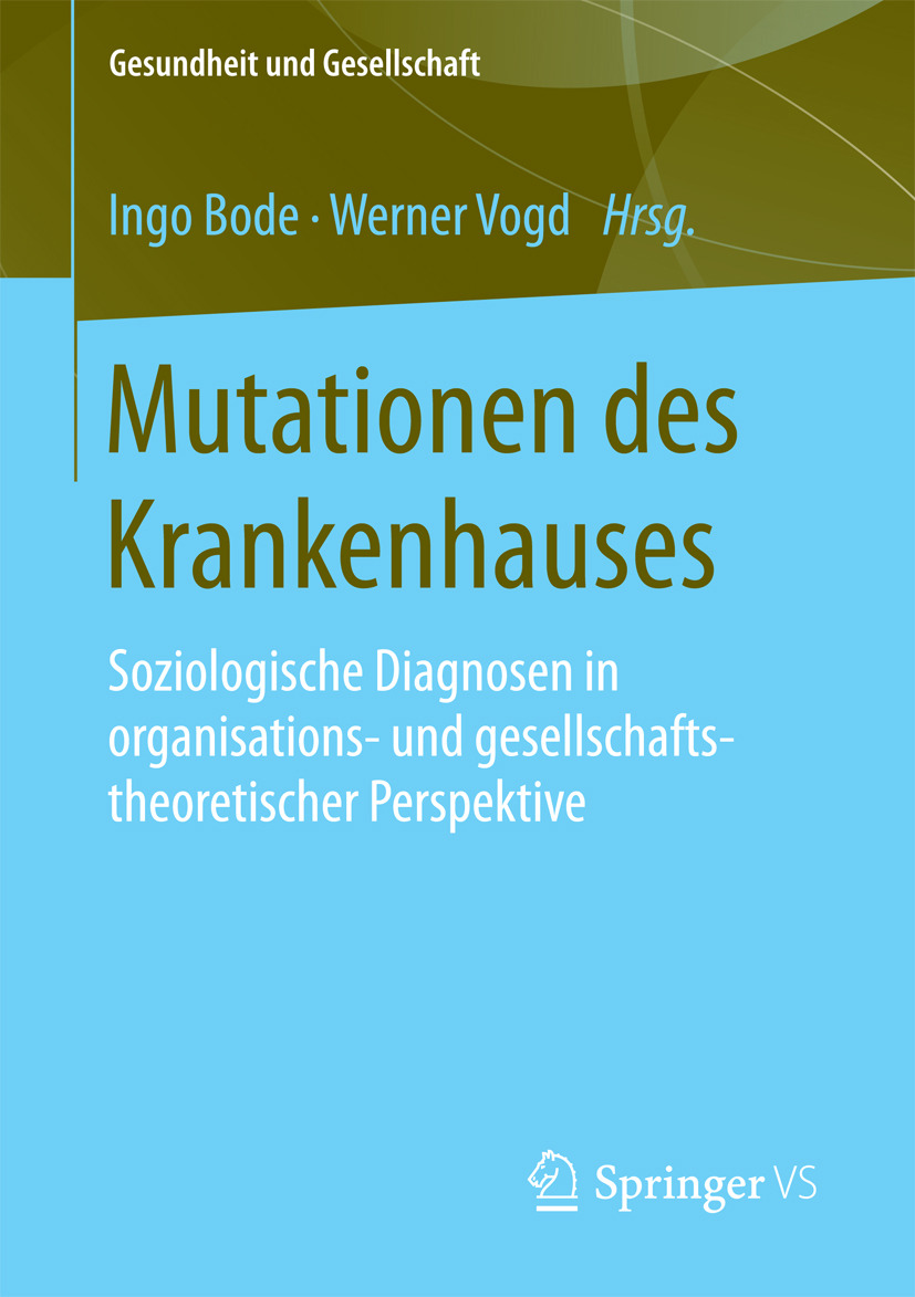 Bode, Ingo - Mutationen des Krankenhauses, ebook