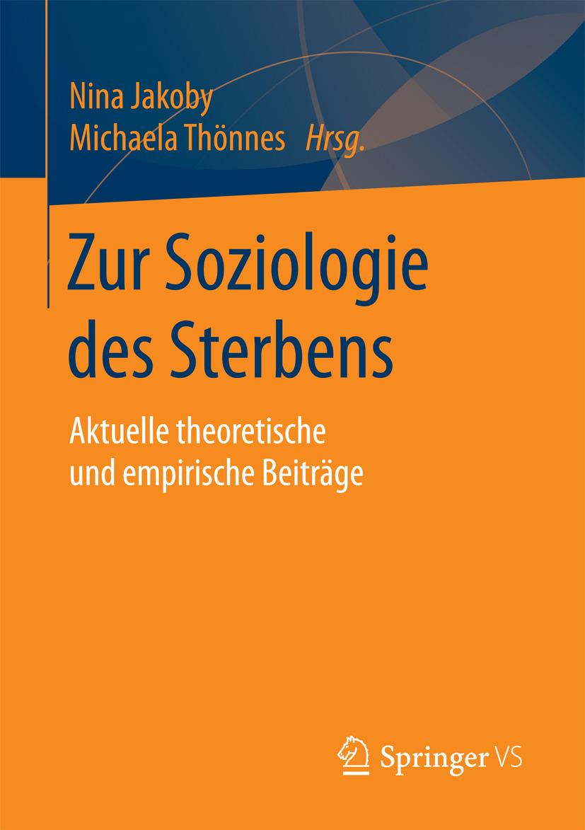 Jakoby, Nina - Zur Soziologie des Sterbens, ebook