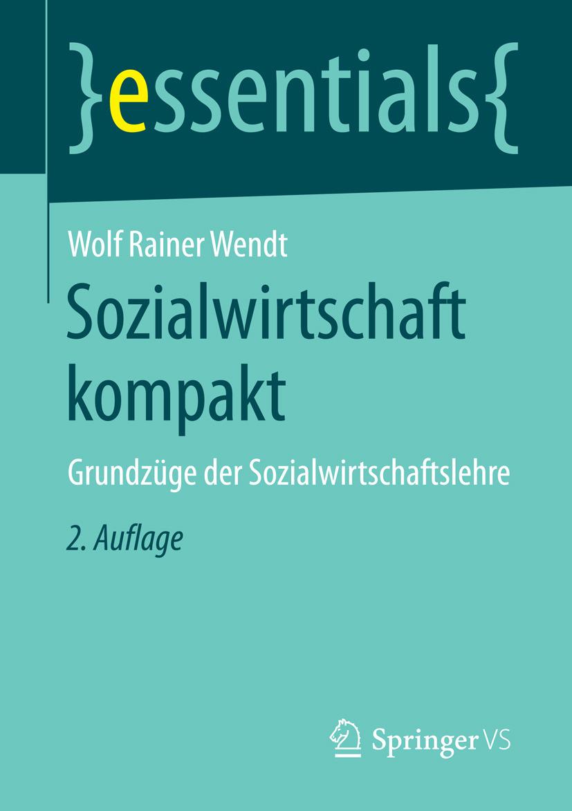 Wendt, Wolf Rainer - Sozialwirtschaft kompakt, ebook