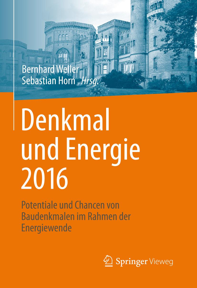 Horn, Sebastian - Denkmal und Energie 2016, ebook