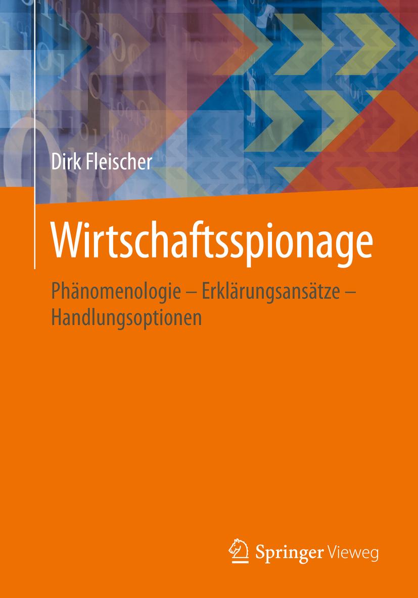 Fleischer, Dirk - Wirtschaftsspionage, ebook