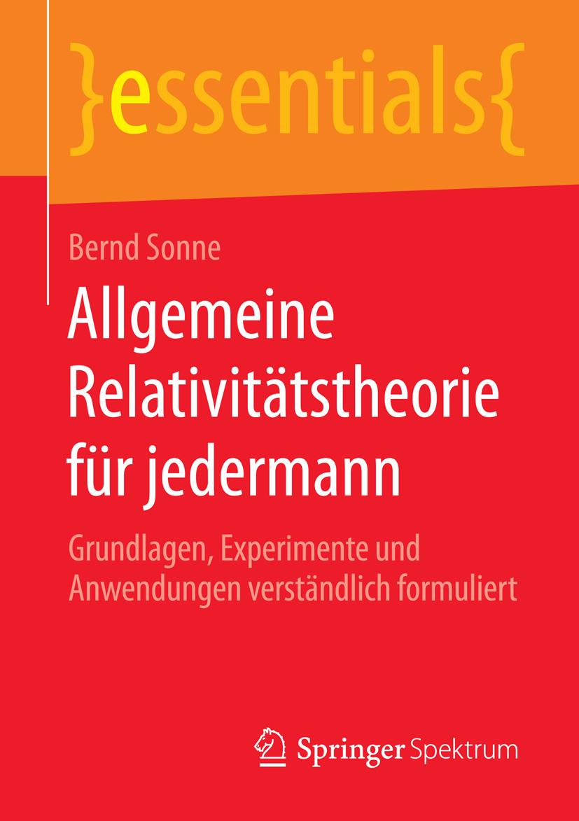 Sonne, Bernd - Allgemeine Relativitätstheorie für jedermann, ebook