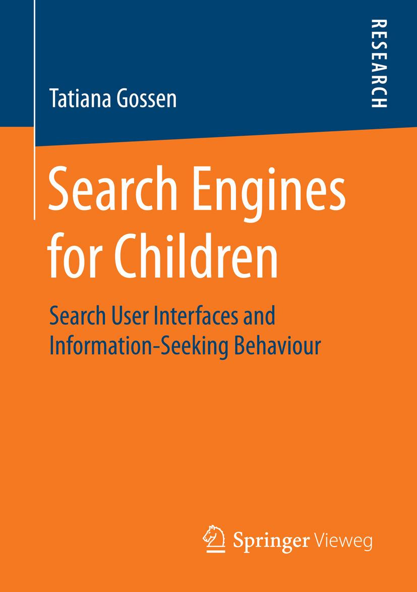 Gossen, Tatiana - Search Engines for Children, ebook