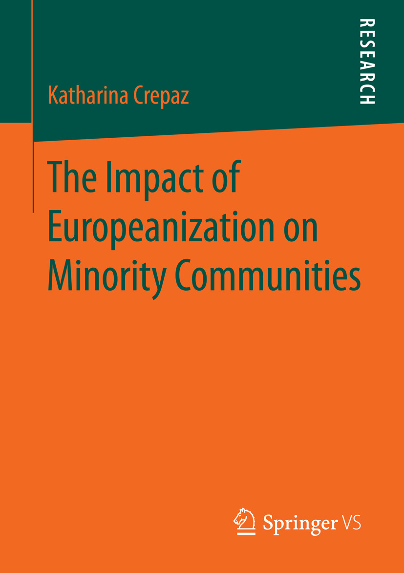 Crepaz, Katharina - The Impact of Europeanization on Minority Communities, ebook
