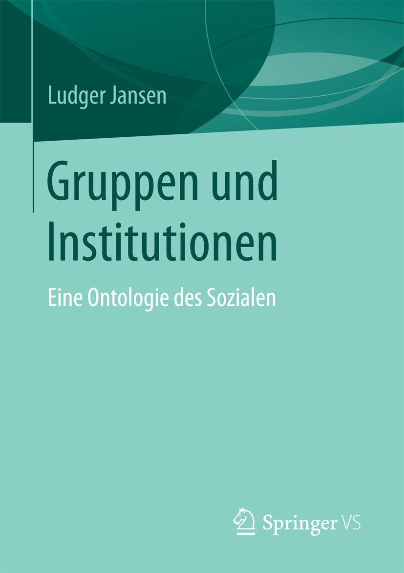 Jansen, Ludger - Gruppen und Institutionen, ebook