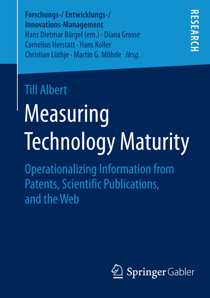 Albert, Till - Measuring Technology Maturity, ebook