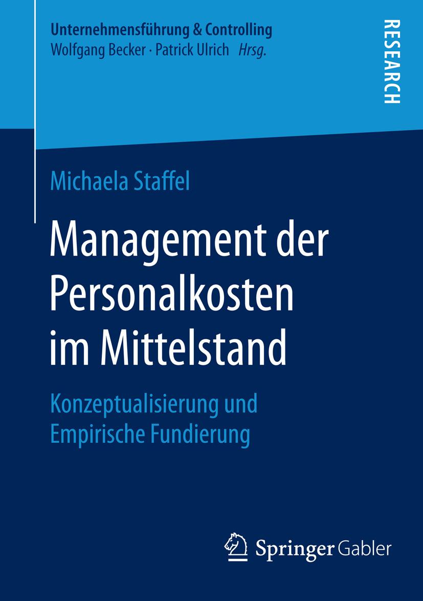 Staffel, Michaela - Management der Personalkosten im Mittelstand, ebook