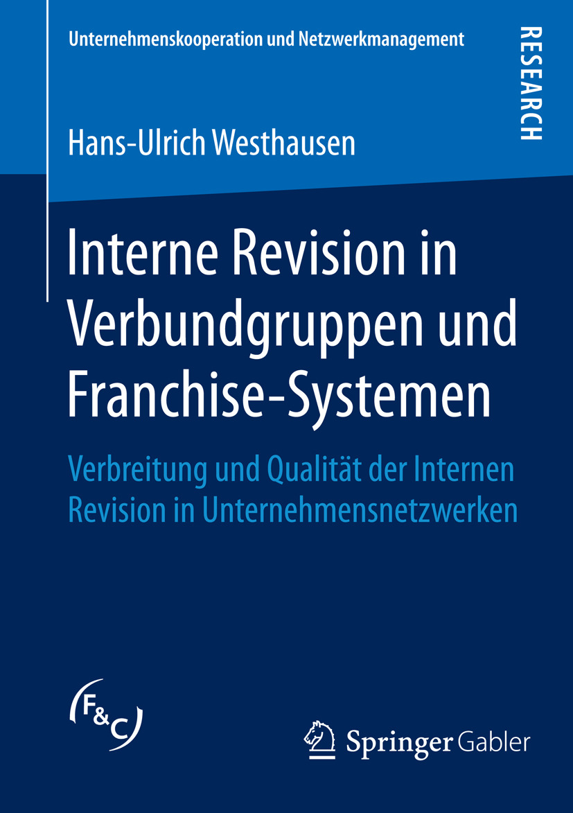 Westhausen, Hans-Ulrich - Interne Revision in Verbundgruppen und Franchise-Systemen, ebook