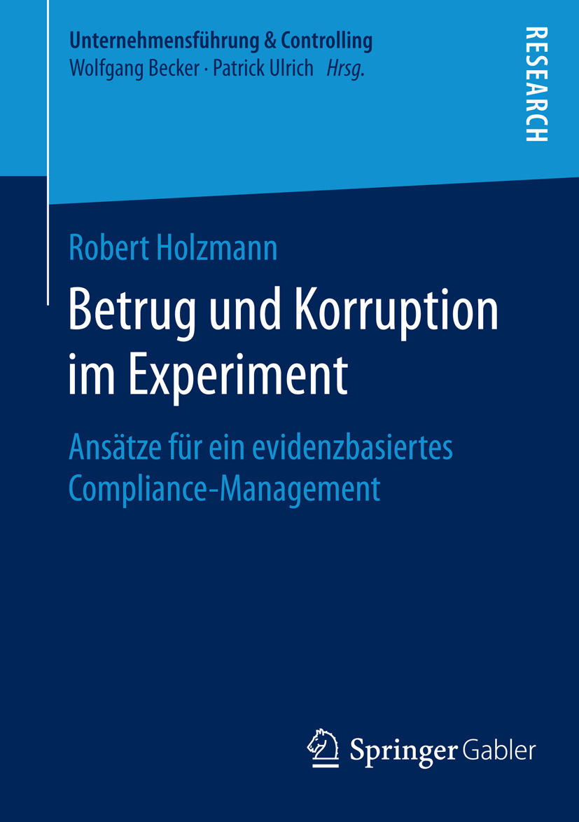 Holzmann, Robert - Betrug und Korruption im Experiment, ebook