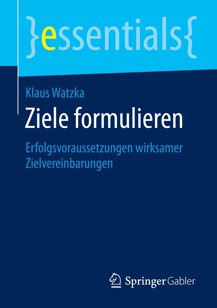 Watzka, Klaus - Ziele formulieren, e-bok