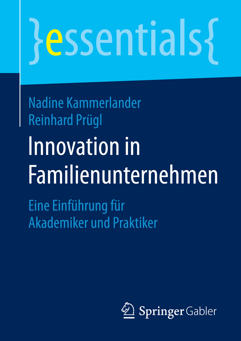 Kammerlander, Nadine - Innovation in Familienunternehmen, ebook