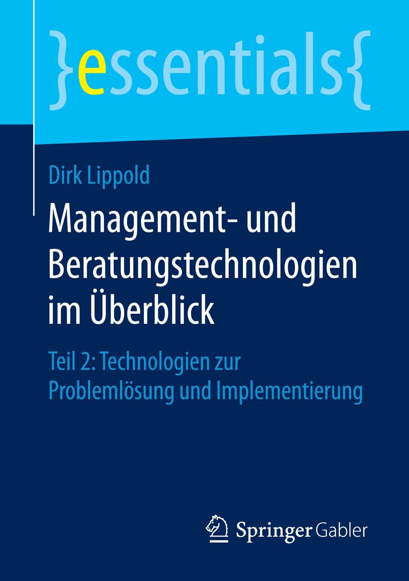 Lippold, Dirk - Management- und Beratungstechnologien im Überblick, ebook