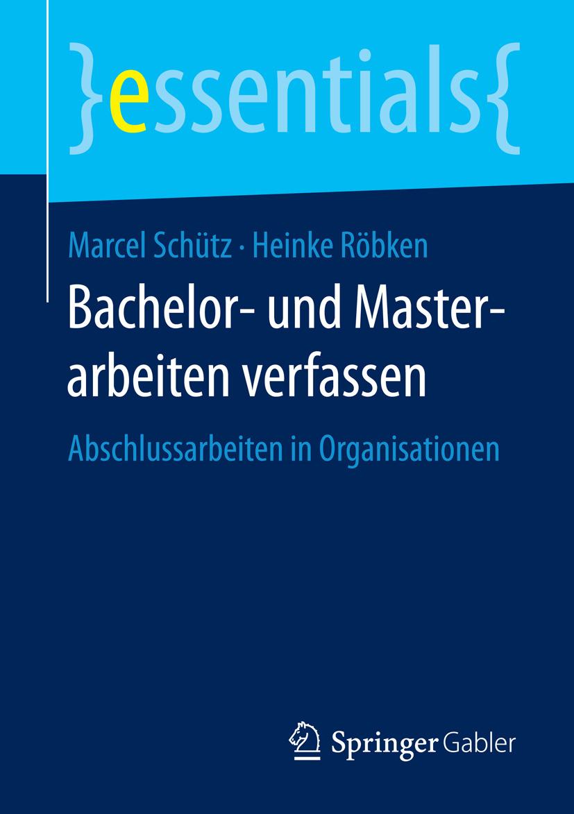 Röbken, Heinke - Bachelor- und Masterarbeiten verfassen, ebook