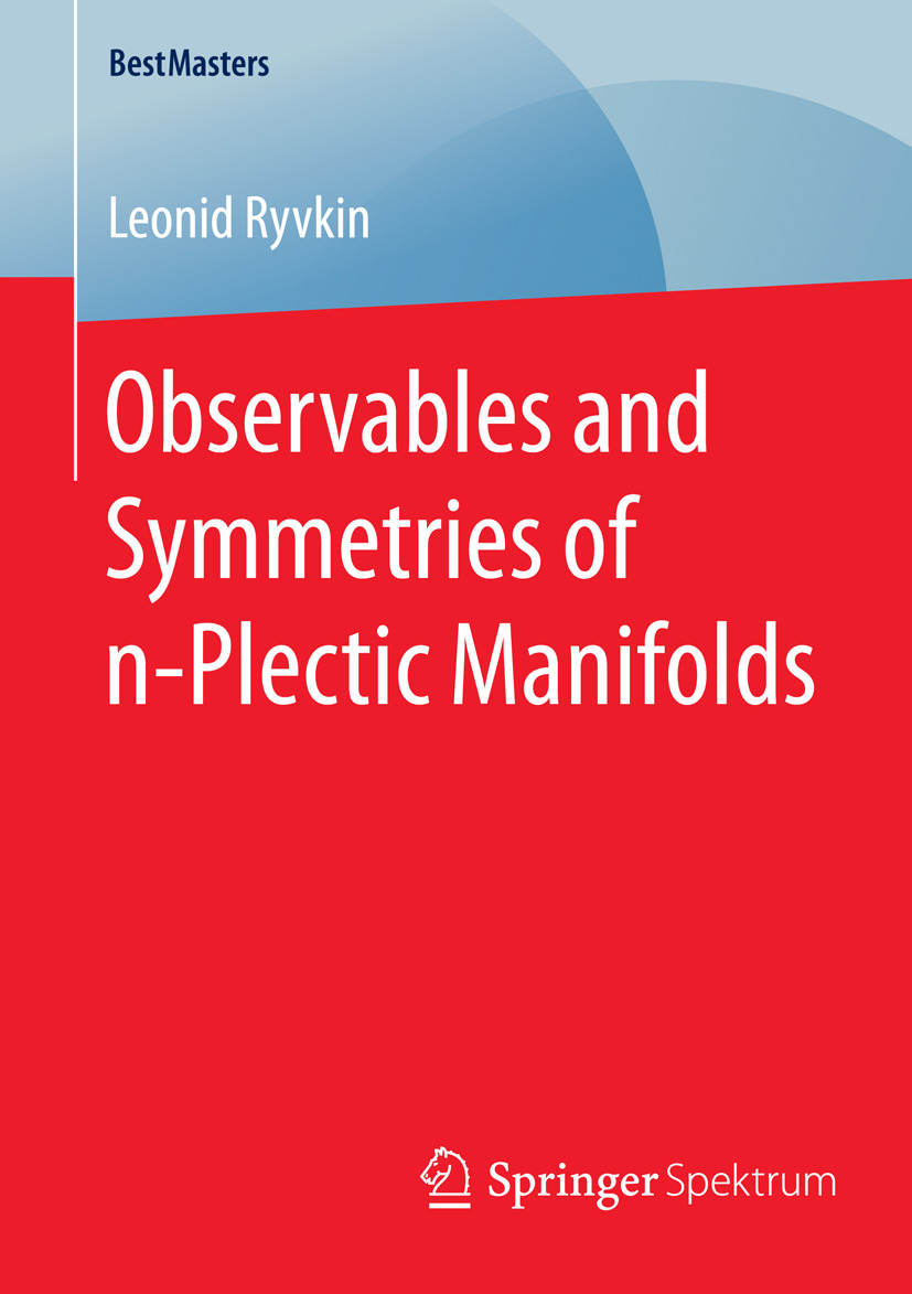Ryvkin, Leonid - Observables and Symmetries of n-Plectic Manifolds, ebook