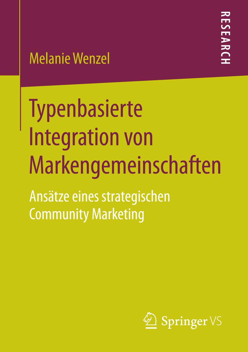 Wenzel, Melanie - Typenbasierte Integration von Markengemeinschaften, ebook