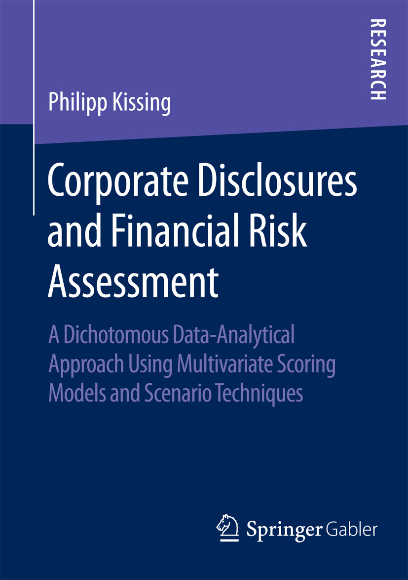 Kissing, Philipp - Corporate Disclosures and Financial Risk Assessment, ebook