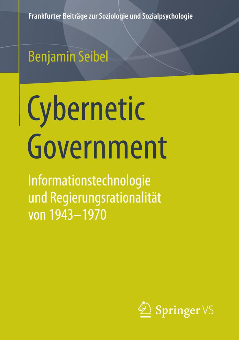 Seibel, Benjamin - Cybernetic Government, ebook