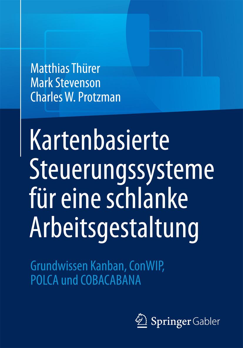 Protzman, Charles W. - Kartenbasierte Steuerungssysteme für eine schlanke Arbeitsgestaltung, ebook