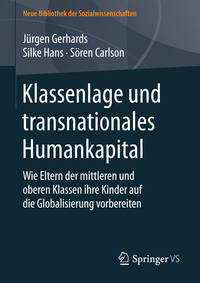 Carlson, Sören - Klassenlage und transnationales Humankapital, ebook
