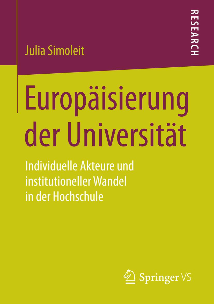 Simoleit, Julia - Europäisierung der Universität, ebook