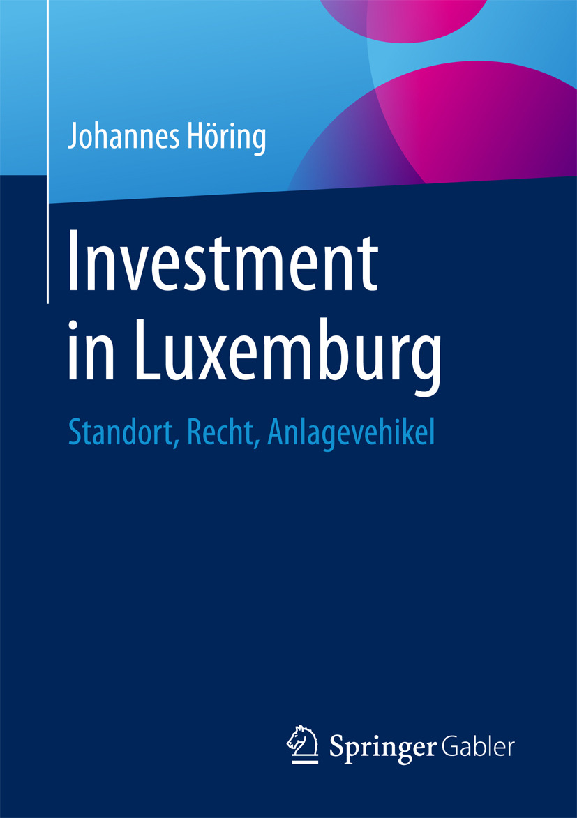 Höring, Johannes - Investment in Luxemburg, ebook