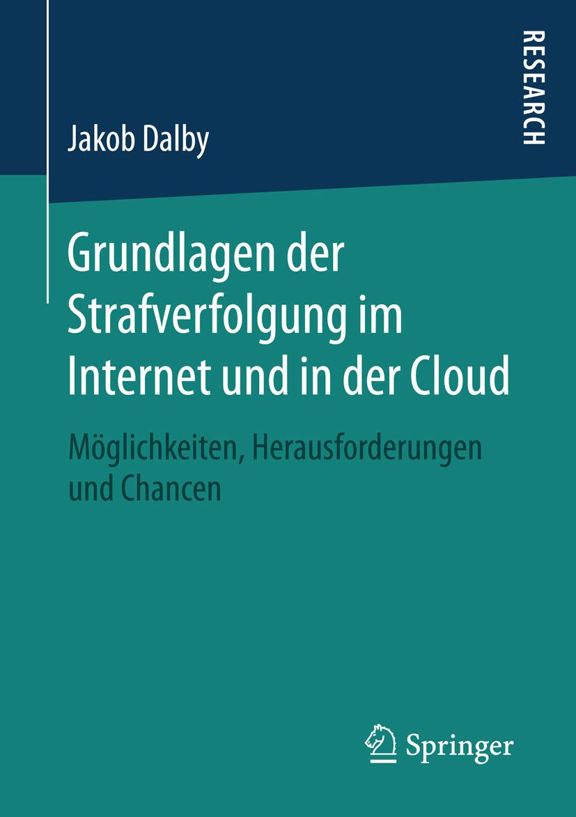 Dalby, Jakob - Grundlagen der Strafverfolgung im Internet und in der Cloud, ebook