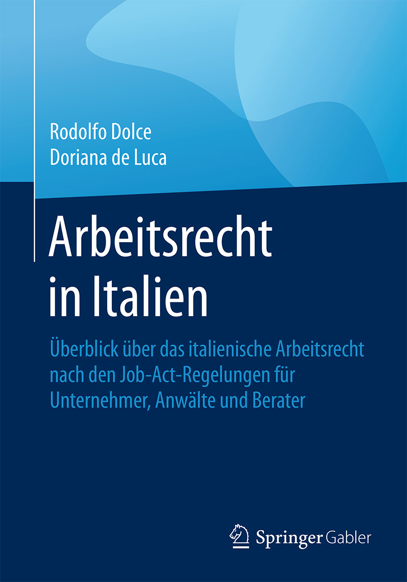 Dolce, Rodolfo - Arbeitsrecht in Italien, ebook