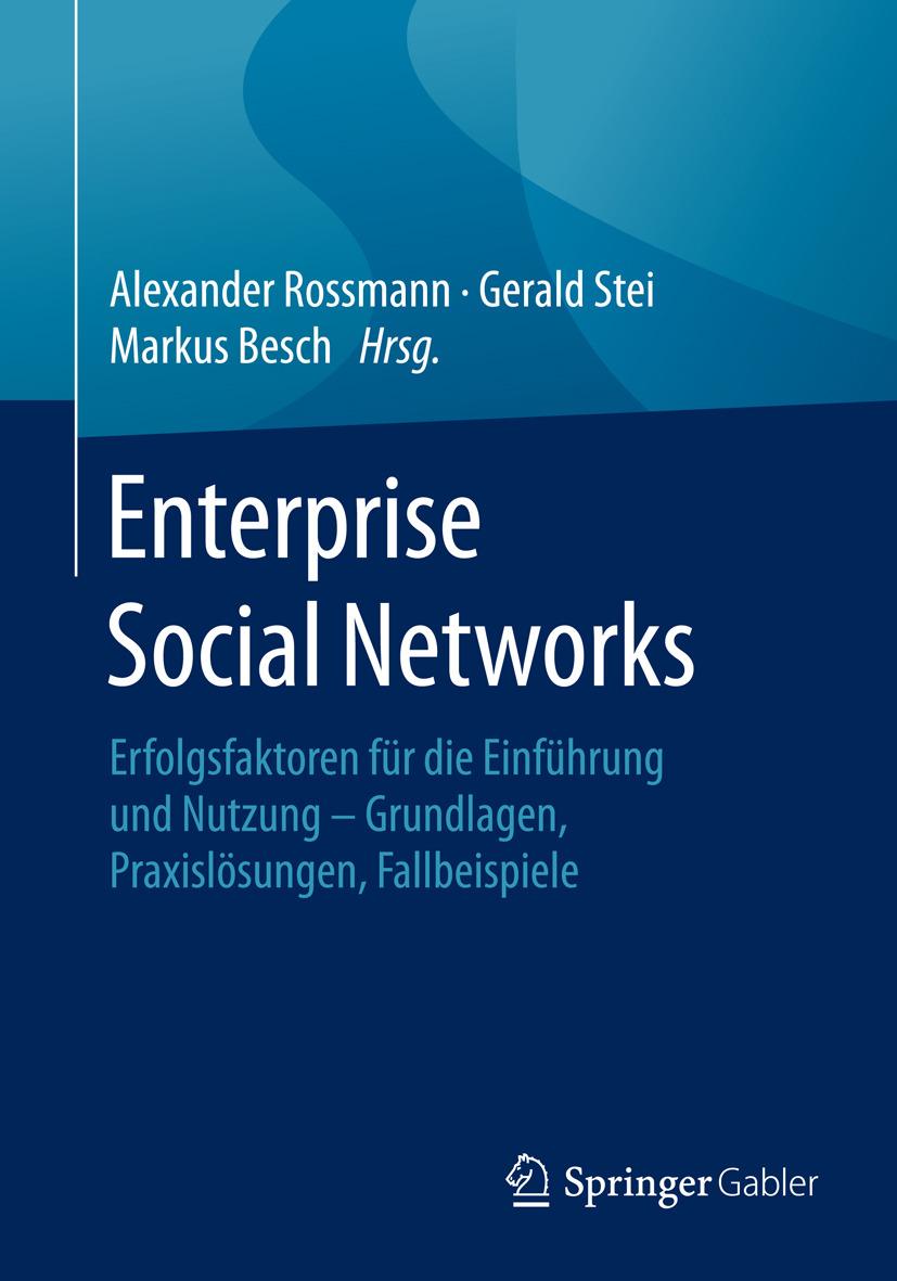 Besch, Markus - Enterprise Social Networks, ebook