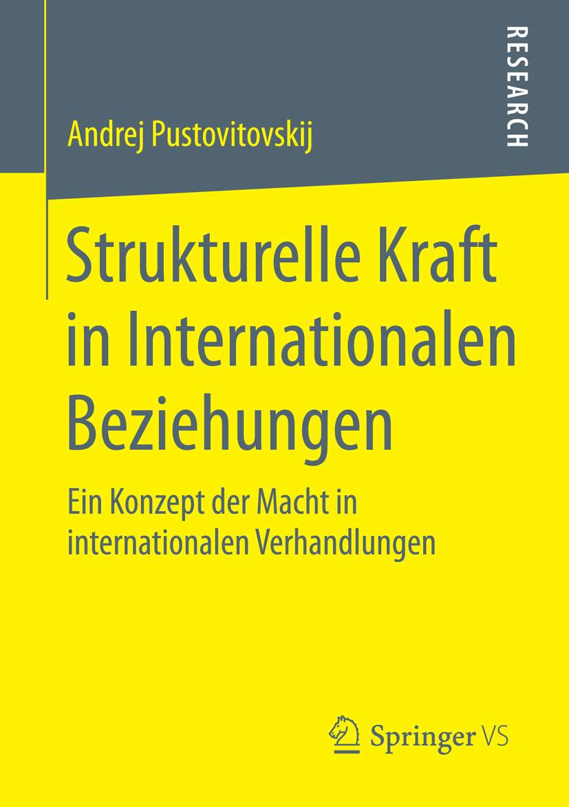Pustovitovskij, Andrej - Strukturelle Kraft in Internationalen Beziehungen, ebook