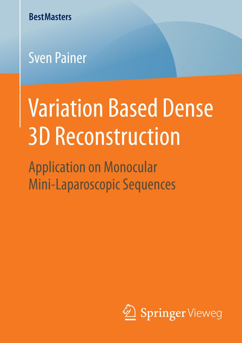 Painer, Sven - Variation Based Dense 3D Reconstruction, ebook