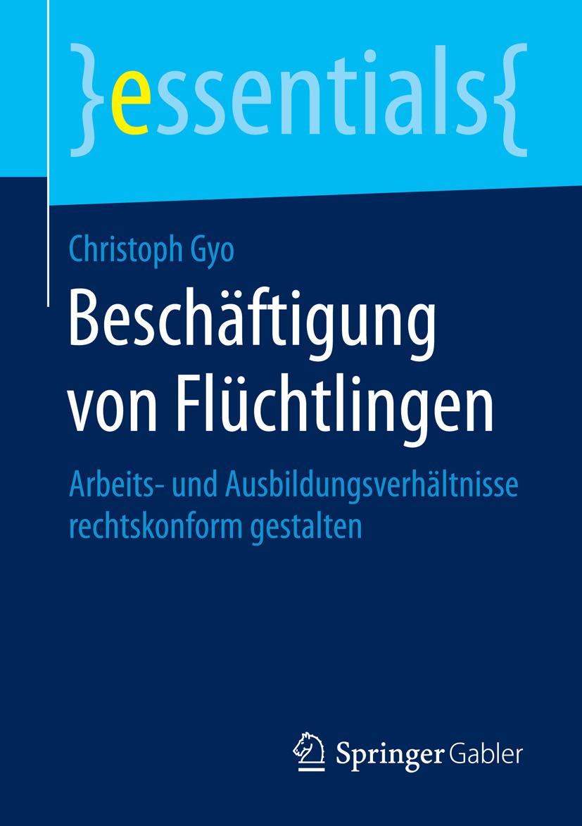 Gyo, Christoph - Beschäftigung von Flüchtlingen, ebook