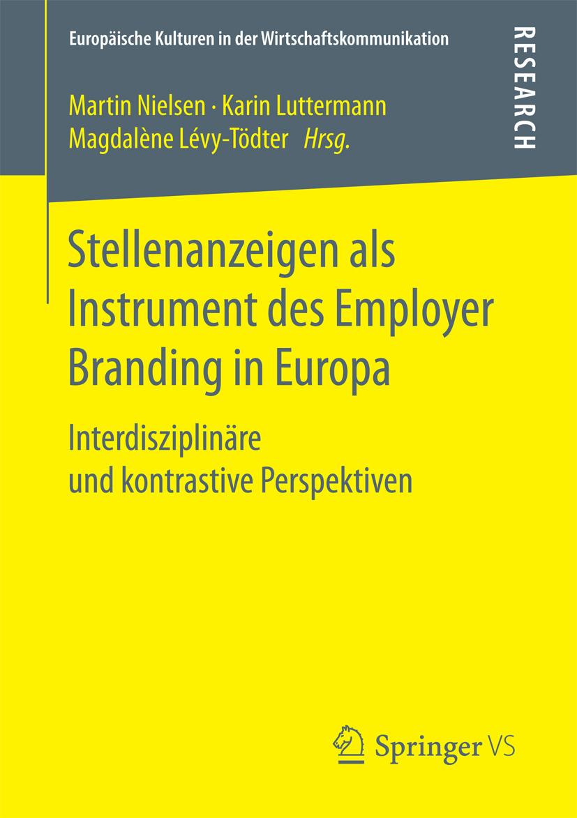 Luttermann, Karin - Stellenanzeigen als Instrument des Employer Branding in Europa, ebook