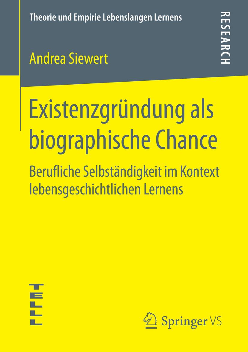 Siewert, Andrea - Existenzgründung als biographische Chance, e-kirja