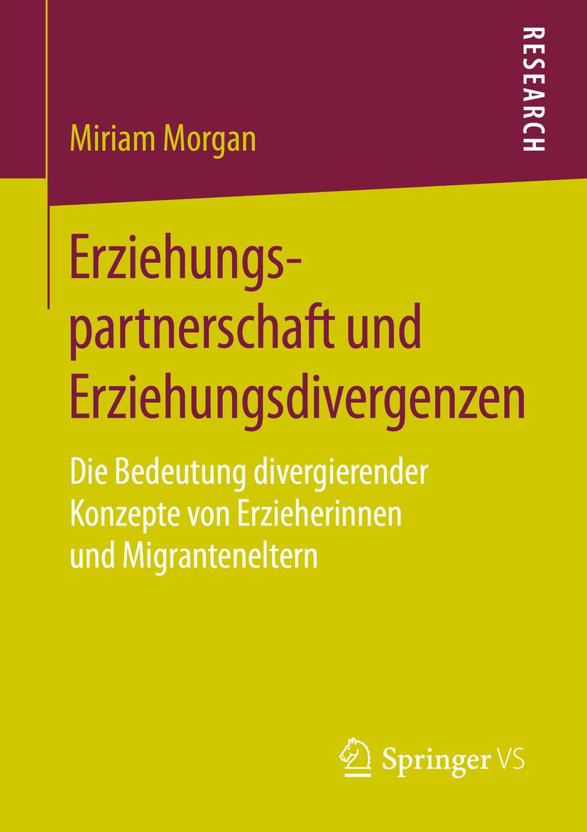 Morgan, Miriam - Erziehungspartnerschaft und Erziehungsdivergenzen, ebook