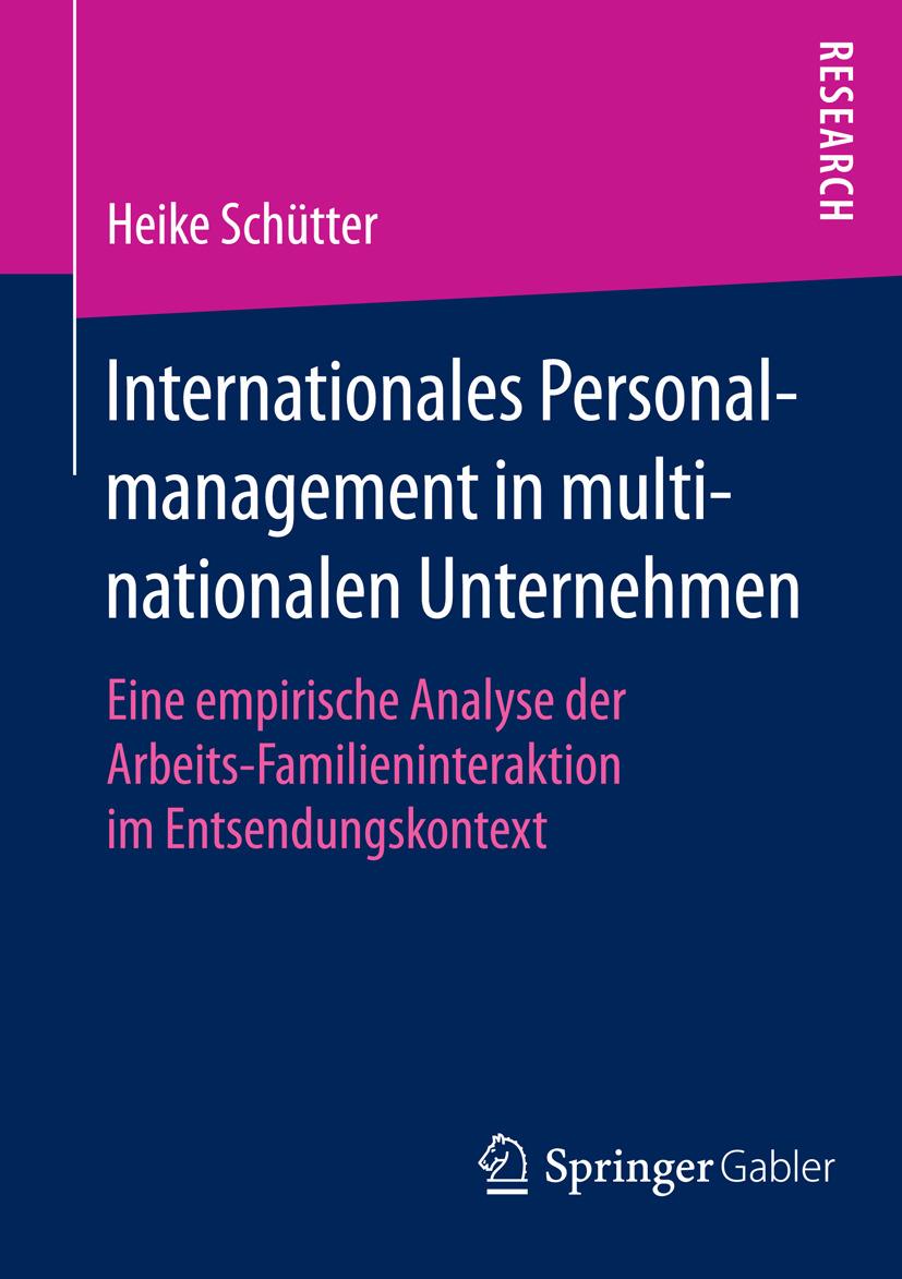 Schütter, Heike - Internationales Personalmanagement in multinationalen Unternehmen, ebook