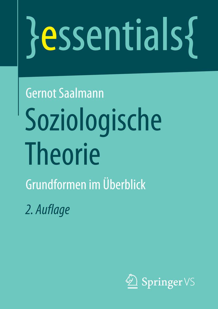 Saalmann, Gernot - Soziologische Theorie, ebook