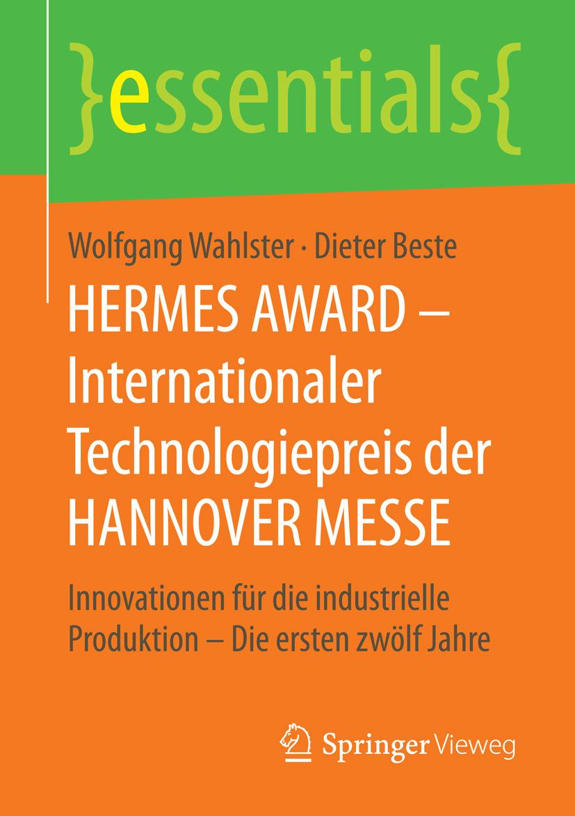 Beste, Dieter - HERMES AWARD – Internationaler Technologiepreis der HANNOVER MESSE, ebook