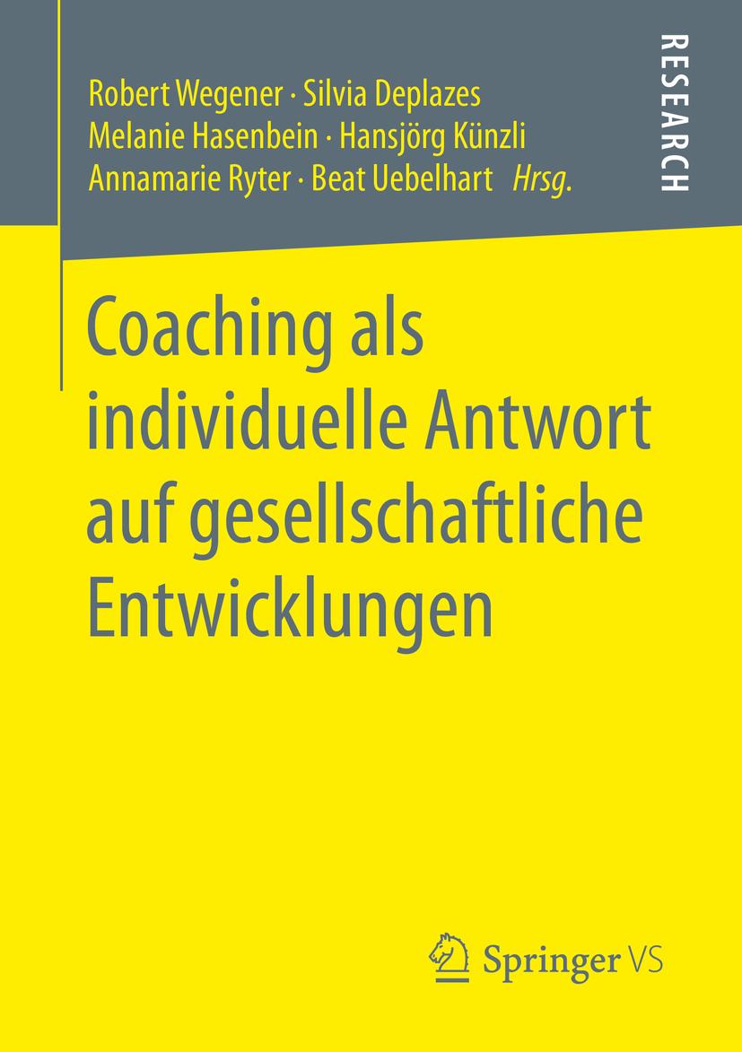 Deplazes, Silvia - Coaching als individuelle Antwort auf gesellschaftliche Entwicklungen, ebook