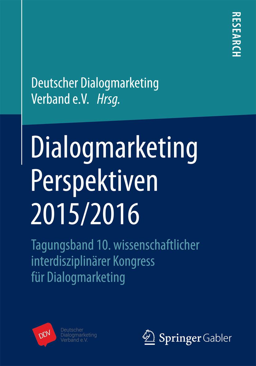 - Dialogmarketing Perspektiven 2015/2016, ebook